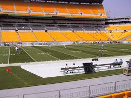 Pittsburgh Heinz Field Seating Chart Heinz Field View From Lower Level 109 Vivid Seats