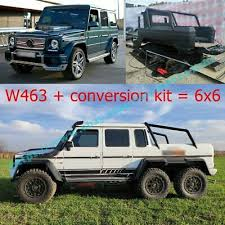 Its business is overcoming the challenges that the natural world and different weather conditions across the globe pose for its driver. Mercedes Benz G Wagon W463 G63 G55 G500 6x6 Brabus Style Carbon Conversion Kit 20 000 00 Picclick