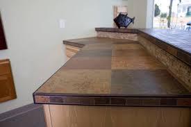 quartz tile countertop style