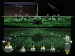 afrl lights the way to remote airfields with portable led based runway lighting