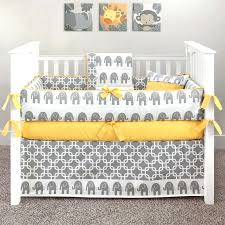 beds baby elephant crib bedding set nursery blue purple and grey b