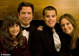 john candy wife and kids. Brilliant Kids John Travolta His Son Jett And Daughter Ella Wife Actress Kelly For Candy Wife And Kids