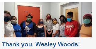 NGUMC: Wesley Woods Residents Sew Masks for Children of Murphy-Harpst