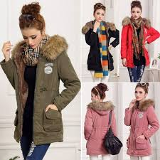 2016 fashion new lady women thicken warm winter coat hood overcoat long jacket outwear