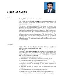 Brilliant Ideas Of Certified Safety Engineer Sample Resume With