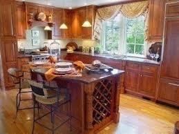 Kitchen island with wine rack 5