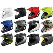Icon Variant Full Face Dot Motorcycle Helmet Pick Size And