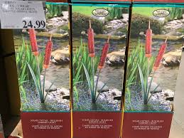solar patio lights costco. Naturally Solar Cattail Lights Costco Www Lightneasy Net Patio G