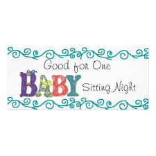 babysitting gift certificate template free free babysitting gift certificate template download free clip art