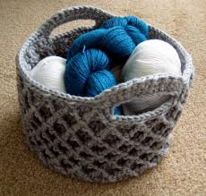Free Crochet Basket Patterns Amazing Diamond Trellis Basket Make My Day Creative