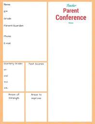 Middle School Parent Teacher Conference Form By Dockside Press Tpt