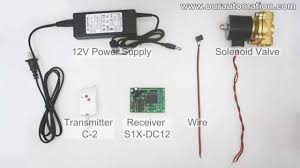 How to Remote Control <b>DC12V Solenoid Valve</b> - YouTube