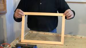 making picture frames with a sliding mitre saw a woodworkweb com woodworking