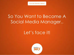 how to become a social media manager so you want to become a social media manager