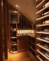 small space wine cellars by papro consulting transitional wine cellar