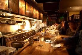 restaurant open kitchen. Open Kitchen Hospitality Interior Design Of 13 Coins Restaurant, Seattle Restaurant