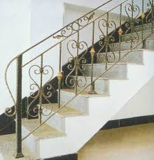 Steel Grill Design Price Hot Item Factory Price House Main Wrought Iron Staircase Railing Design Iron Grill Design