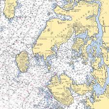 Alaska Nautical Charts Alaska Edna Bay Davidson Inlet Warren Island Heceta Island Kosciusko Island Nautical Chart Decor