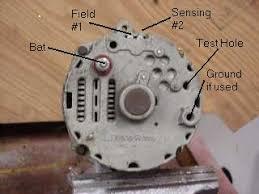 auto single wire alternator wiring diagram wiring diagram alternator wiring diagrams and information brianesser com onewirealternator