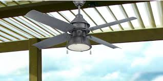 craftmade par52agv4 52 complete galvanized metal ceiling fan with light from the port arbor collection