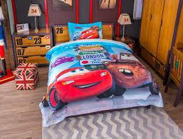 disney cars and trucks bedding set twin queen size 3 600x459 disney cars and trucks