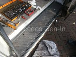 mercedes sprinter vw crafter side loading door cable management issues 2