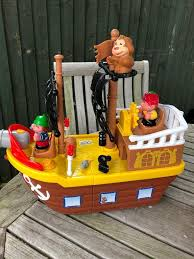 a big pirate ship play set toy with light and sounds from john lewis