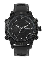 watches for men buy men s watches online in myntra roadster men black analogue digital chronograph watch mfb pn wth1609 a