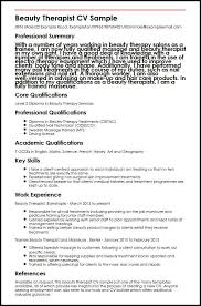 Cosmetology Sample Resume Beautician Cv Magdalene Project Org