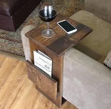 sofa tray table diy