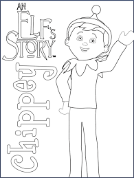 Small Picture Girl Elf Coloring Pages Coloring Home Coloring Coloring Pages