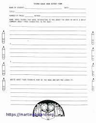 free printable book report template beautiful how do you write a 3rd grade book report