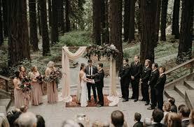 outdoor forest wedding venue
