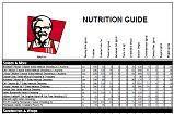 Kfc Restaurant Locators Menu Calorie Information