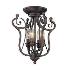 decoration 3 bulb flush mount ceiling light drum fan bathroom chandeliers shade over