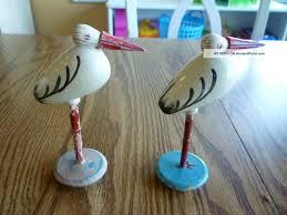 wooden folk art pelican
