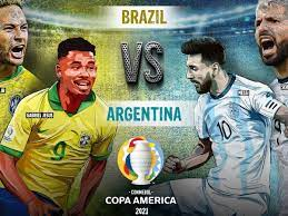 Argentina Vs Brazil Copa America Final ...