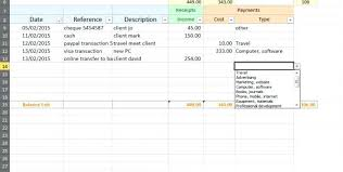 Simple Accounts Template Farm Accounts Template Teagasc Accounting Excel