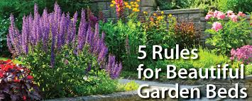 Small Picture How To Landscape Help 5 Rules for Beautiful Garden Beds