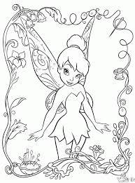 Tinkerbell Kleurplaat