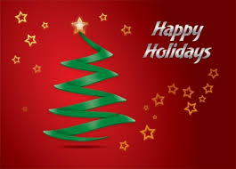 Happy Holiday Card Templates Happy Holiday Greeting Card Template