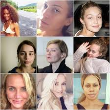 how do stars look like without makeup