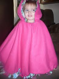 Fleece Poncho Pattern With Hood Awesome Crafty Mommy At Home NoSew Two Layer Fleece Poncho