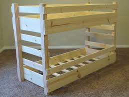 Diy Bunk Beds Kids Toddler Bed Plans Fits Crib