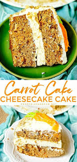 Copycat Carrot Cake Cheesecake Cake Food Folks And Fun