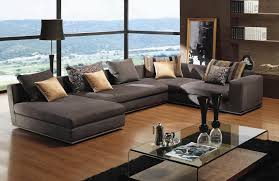 Image of: Sectional Couches With Pillow