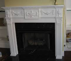 townhome fireplace built ins wainscoting and molding before and after from an a