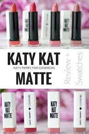 cover katy kat matte lipstick review swatches