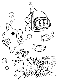 Small Picture Nintendo Kirby Coloring Pages Kids Play Color Coloring Coloring