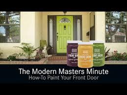 how to paint your front doorHowTo Paint Your Front Door  YouTube